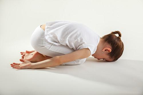 Child's Pose to Balance Vata