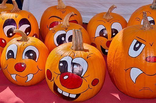Pumpkin Face Activity